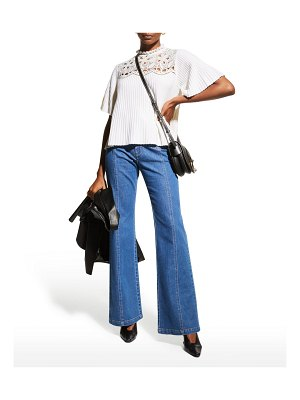 See By Chloe Emily Wide-Leg Jeans
