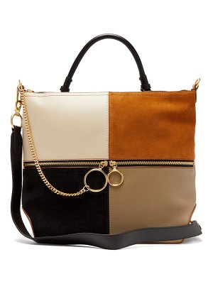 See By Chloe emy large suede and leather tote bag