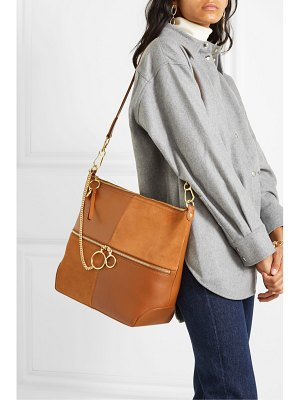 See By Chloe emy leather and suede shoulder bag