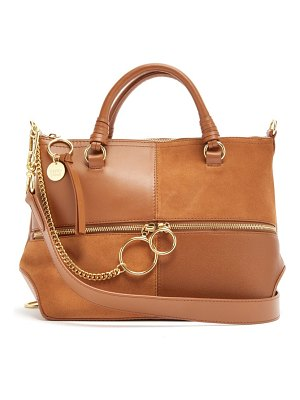 See By Chloe emy medium suede and leather bag