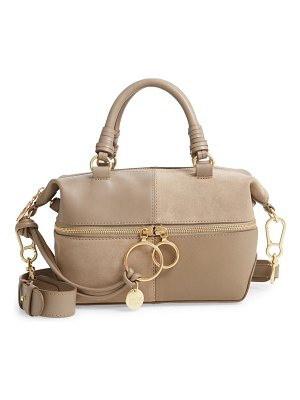 See By Chloe emy suede & leather satchel
