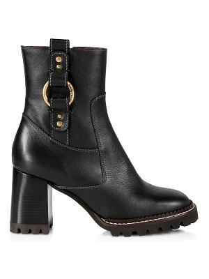 See By Chloe erine leather mid-calf boots