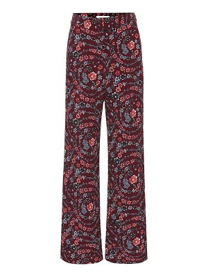See By Chloé floral wide-leg pants