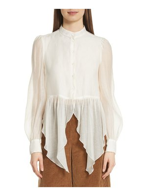 See By Chloe flounce blouse