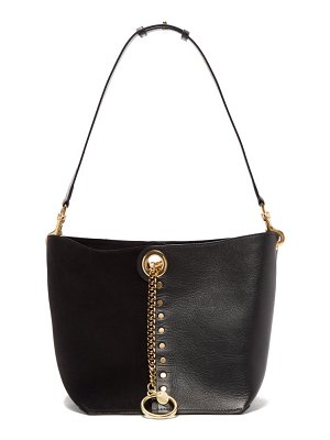 See By Chloe gaia medium suede and grained-leather tote bag