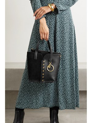 See By Chloe gaia mini studded leather and suede tote