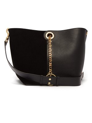 See By Chloe gaia suede and leather tote bag