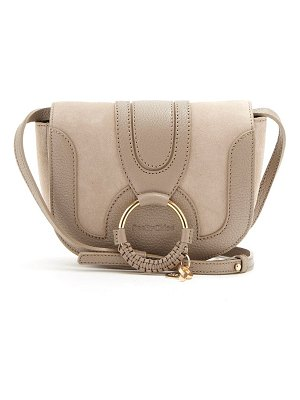See By Chloe hana mini suede and leather cross-body bag