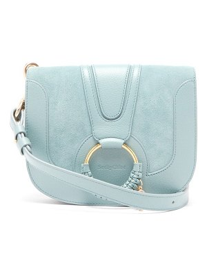 See By Chloe hana small leather and suede cross-body bag