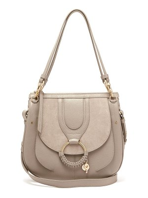 See By Chloe hana suede and leather satchel cross body bag