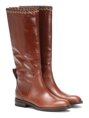 See By Chloe helen leather knee-high boots