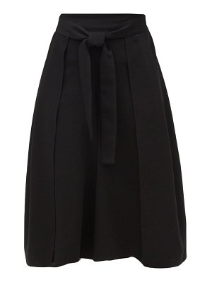See By Chloe high-rise belted crepe culottes