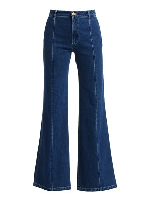 See By Chloe high-waist wide leg jeans