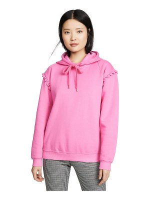See By Chloe hoodie with scallop detail