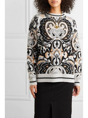 See By Chloe intarsia wool-blend sweater