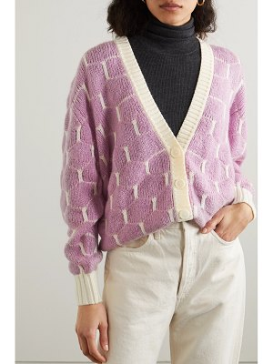 See By Chloe jacquard-knit cardigan