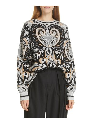 See By Chloe jacquard sweater