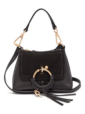 See By Chloe joan mini leather and suede cross body bag