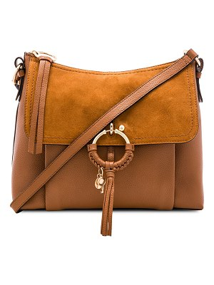 See By Chloe Joan Small Suede & Leather Shoulder Bag
