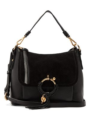 See By Chloe Joan suede and leather shoulder bag