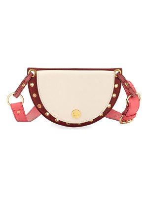 See By Chloe Kriss Colorblock Leather Belt Bag/Fanny Pack