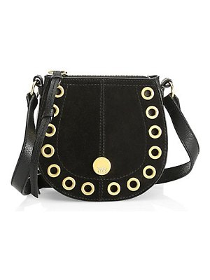 See By Chloe kriss grained leather & suede shoulder bag