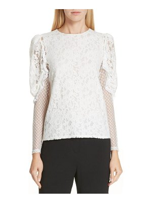 See By Chloe lace leg of mutton top