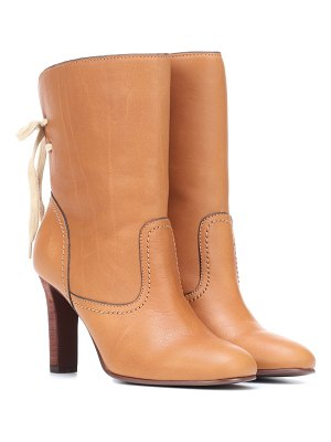 See By Chloé lara leather ankle boots