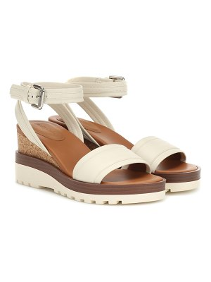 See By Chloe leather wedges