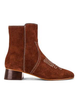 See By Chloe lizzi bootie