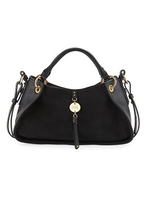 See By Chloe Luce Mixed Leather Satchel Bag