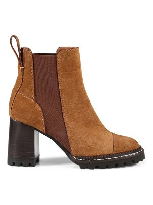 See By Chloe mallory leather chelse boots