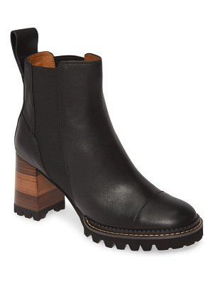 See By Chloe mallory pull-on bootie