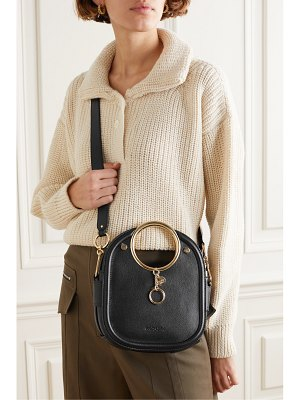 See By Chloe mara small textured-leather shoulder bag