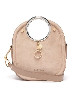 See By Chloe mara suede and leather bag