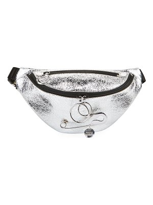 See By Chloe Mindy Metallic Belt Bag/Fanny Pack