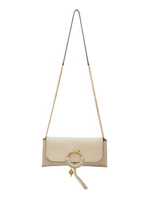 See By Chloe off-white joan evening bag