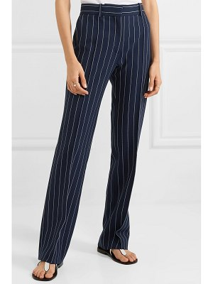 See By Chloe pinstriped woven straight-leg pants