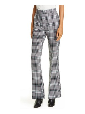 See By Chloe plaid flare trousers