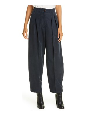 See By Chloe pleated barrel leg trousers