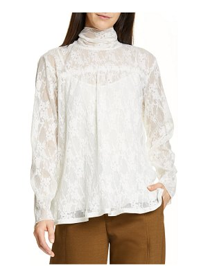 See By Chloe pleated lace top