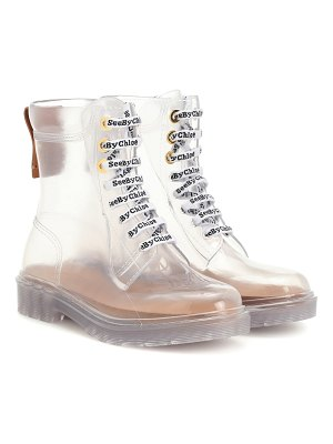 See By Chloe pvc ankle boots