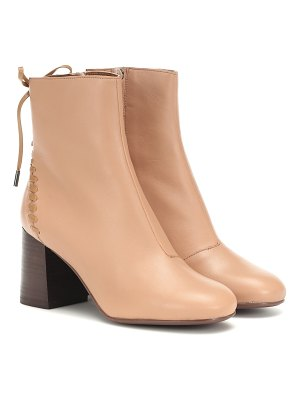 See By Chloe reese leather ankle boots