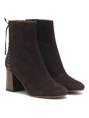 See By Chloe reese suede ankle boots