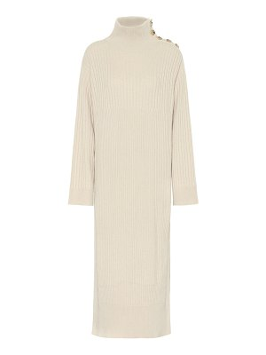 See By Chloe ribbed wool-blend sweater dress