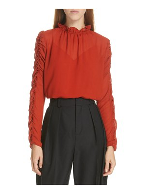 See By Chloe ruched sleeve top