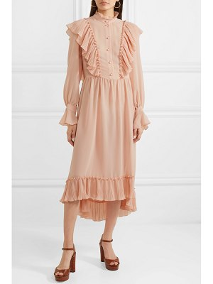 See By Chloe ruffled chiffon midi dress