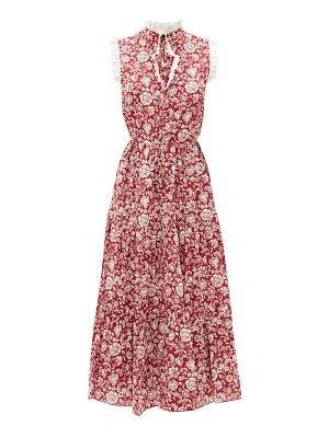 See By Chloe ruffled floral-print cotton dress