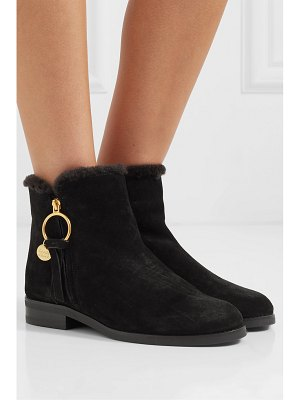 See By Chloe shearling-lined suede ankle boots