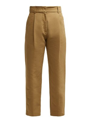 See By Chloe straight-leg cotton trousers